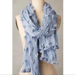 Anthropologie Scarf. Light Blue. NWT.